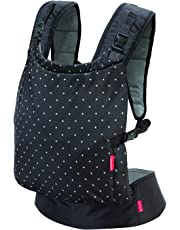 Infantino Zip Ergonomic Baby Travel Carrier, Black