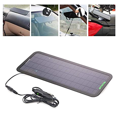 Electz 18V 5W Portátil Poder Solar Panel Batería Cargador De ...