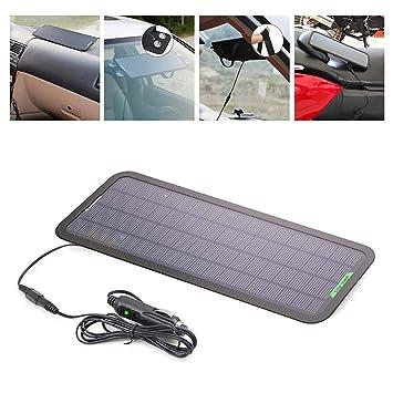 ZYG.GG 18V 5W Portátil Poder Solar Panel Batería Cargador De ...