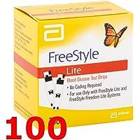 FREESTYLE LITE - 100 Tiras Reactivos para el