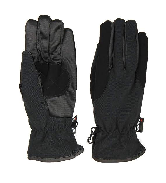 317442415e318 Medium Black Thinsulate 3M 40g Thermal Gloves w PU Palm Patch   Fleece  Lining