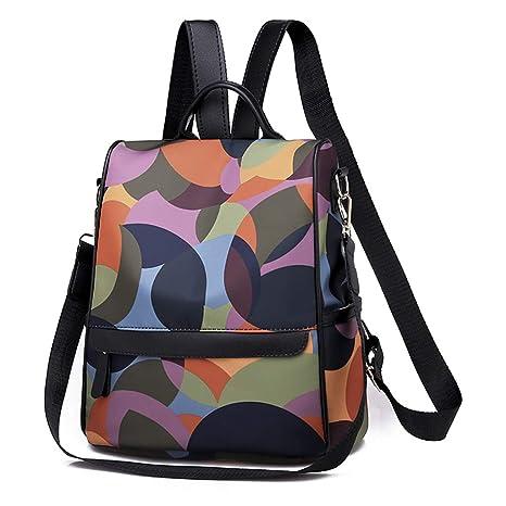 689d853473f3 Amazon.com | Rhfemd Women Fashion Travel Backpack Nylon Anti-Theft ...