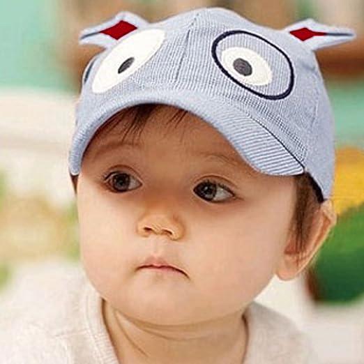 66ca05248d7f Amazon.com  Easykan Cute Dog Baseball Cap Toddler Sun Hat Brim Kid ...