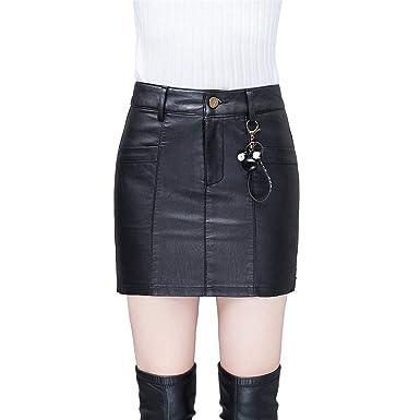 Skitor Negocios Mujer Falda Lápiz Bonitos Cuero Skirt Sencillos ...