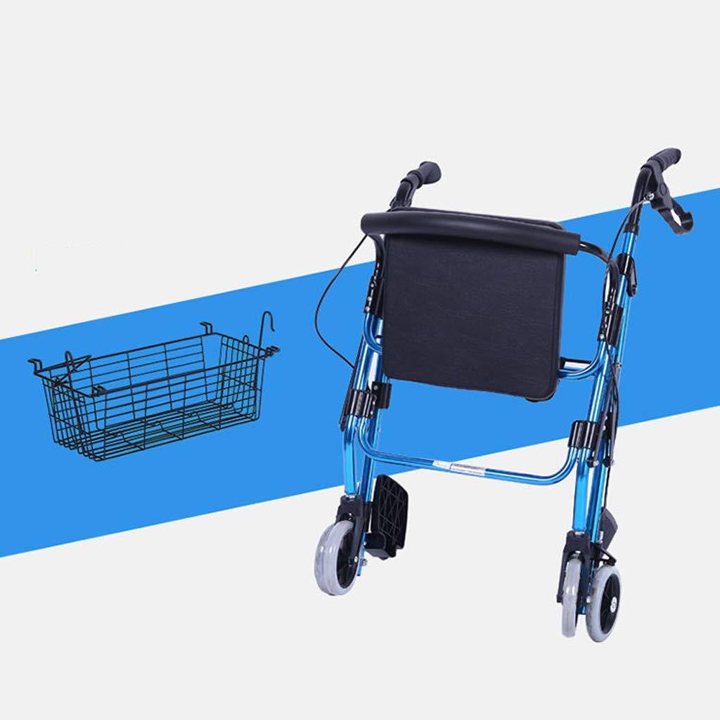 Amazon.com: ZXXX - Andador ligero plegable con altura ...