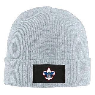 ARTOPB Fashion Funny 2019 Warm Winter Beanie Mens Womens Knit Beanie Hat Boy Scouts of America Warm Winter Hat Skull cap Unisex