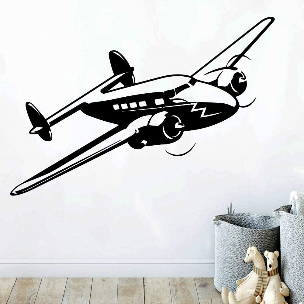 Ajcwhml Hot Helicopter Sticker Movable Mural Mural Poster for Kids Room Decoration Background Wall Art Decal Envío Directo: Amazon.es: Hogar