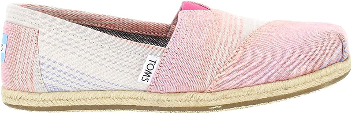 TOMS Womens Classic Slip-On Shoes