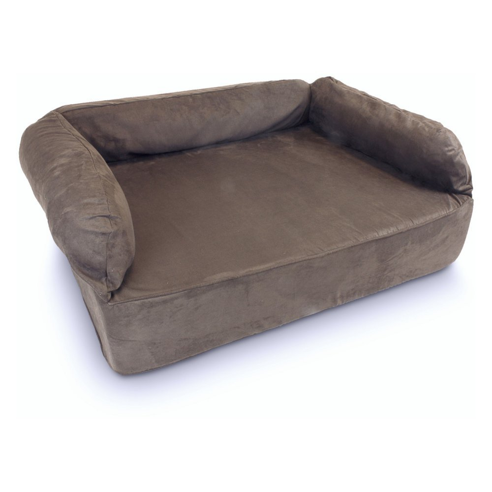 Snoozer Pet Products - Luxury Dog Sofa   X-Large - Dark Chocolate