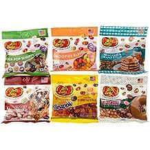 Jelly Belly More Sweet Jelly Bean Gift Bundle - Cold Stone, Krispy Kreme, Smoothie, Snapple, Pancakes & Soda Pop Shoppe