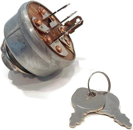 B /& S ENGINE MFG # SCAG 48798 NEW KEY SWITCH BRIGGS AND STRATTON ENGINES MTD w