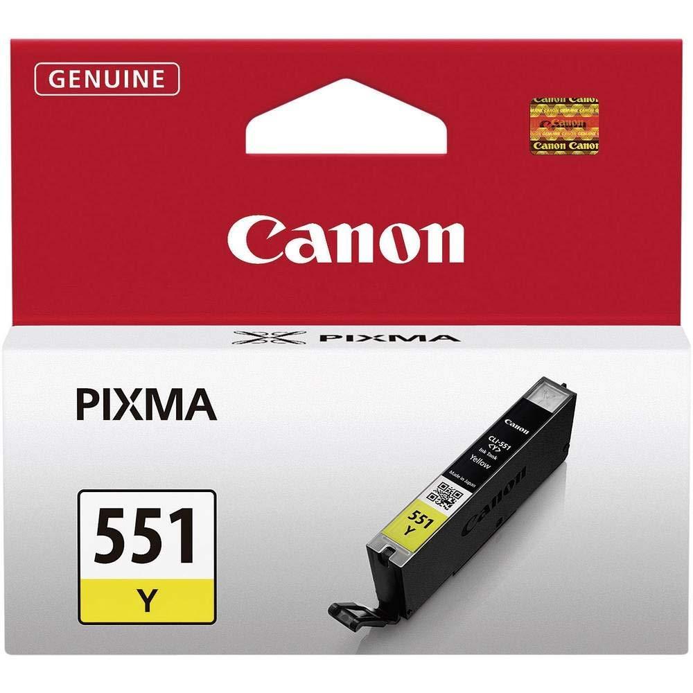 Canon CLI-551 Cartucho de tinta original Negro para Impresora de ...