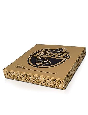 Pack 150 Cajas de Cartón para Pizzas Grandes (45x45x4,5cm) - Caja Cartón Pizza - Cajas Pizza - Caja