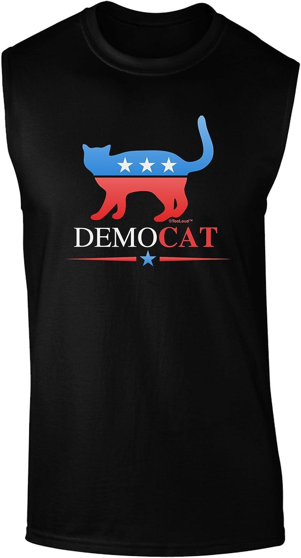 TooLoud Democat Dark Muscle Shirt