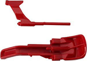 R&DOG Vacuum Cyclone Red Canister Button Release Catch Clips for Dyson DC41, DC43(Free Trailer Hook)