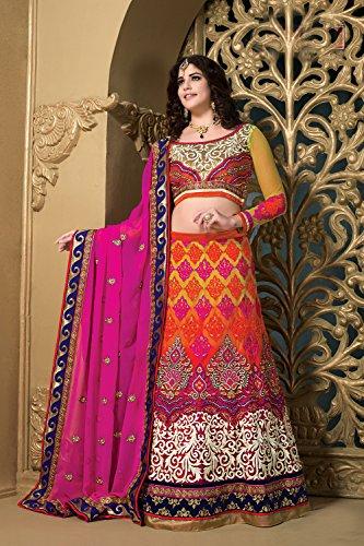Da Facioun Concepteur Indien Partywear Ethniques Traditionnels Choli Multi Lehenga Dans Plusieurs Net