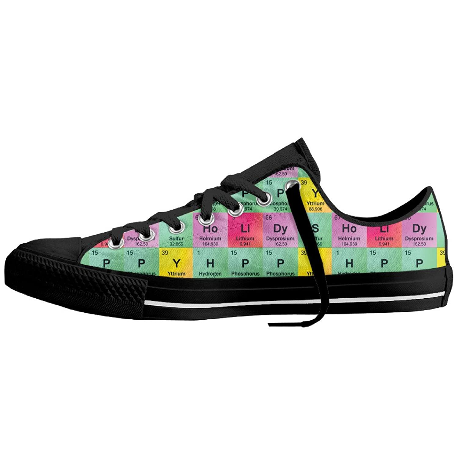 Science teacher funny elements periodic table biology physics flat science teacher funny elements periodic table biology physics flat fashion canvas shoes lace ups low top sneakers for men and women white urtaz Choice Image