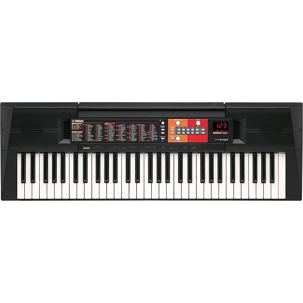 Yamaha PSR-F51 61-Key Portable Keyboard Level 2 Regular 190839159182