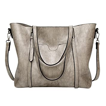 464993f067fe Amazon.com : HP95(TM) Fashion Women Large Leather Crossbody Bag with ...