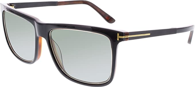 Tom Ford Sonnenbrille FT0392 01R 57 Gafas de sol, Negro ...