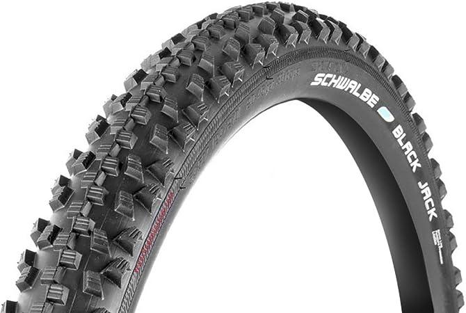 Schwalbe Black Jack 26X1.90 Wired Tyre 605g (47-559) - Black ...