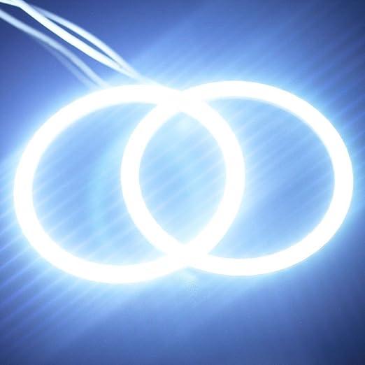 1 opinioni per Angelo occhio COB luce cerchio anello faro lampada 12V bianco Everbright 2 pz