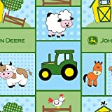 John Deere Baby Barn Yard Patch Fabric