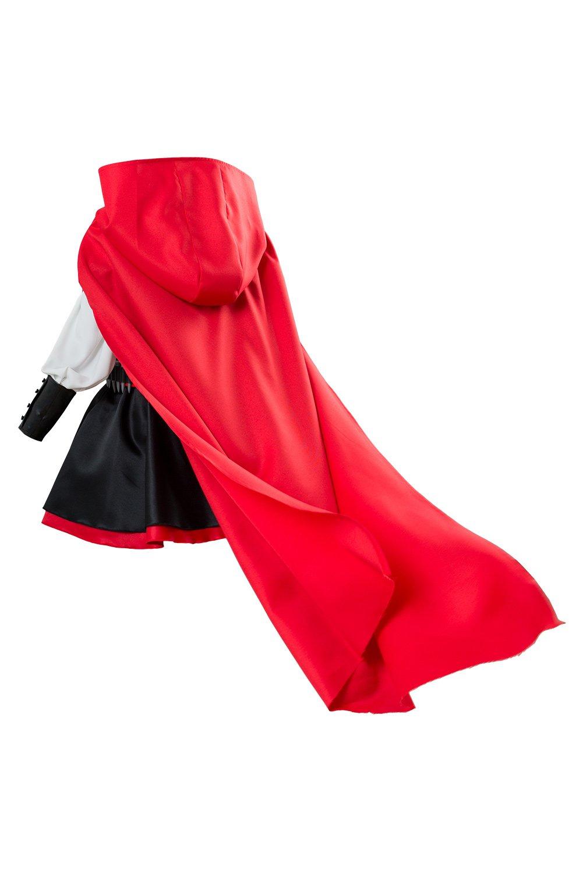 Karnestore RWBY 3 Ruby Rose Battler Kleid Cosplay Kostüm Kostüm Kostüm Damen M e32c21