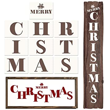 Coogam Plantillas de Navidad - Feliz Navidad Carta Dibujo ...