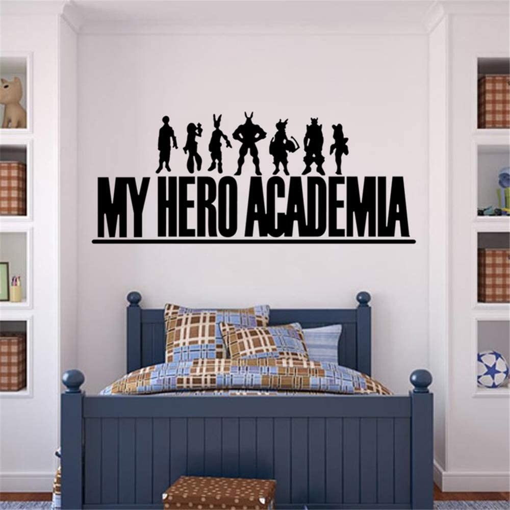 Pqzqmq My Hero Academia Decal My Hero Academia - Logo Anime Decal Sticker