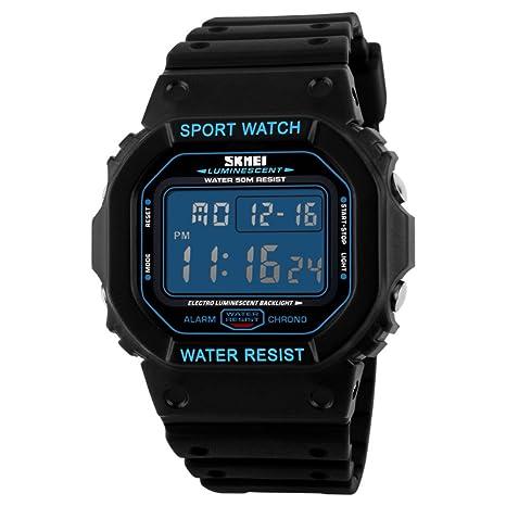 Men's Watches Skmei Fashion Men Watches Sports Digital Watch Waterproof Alarm Man Wrist Electronic Clock Men Relogio Masculino