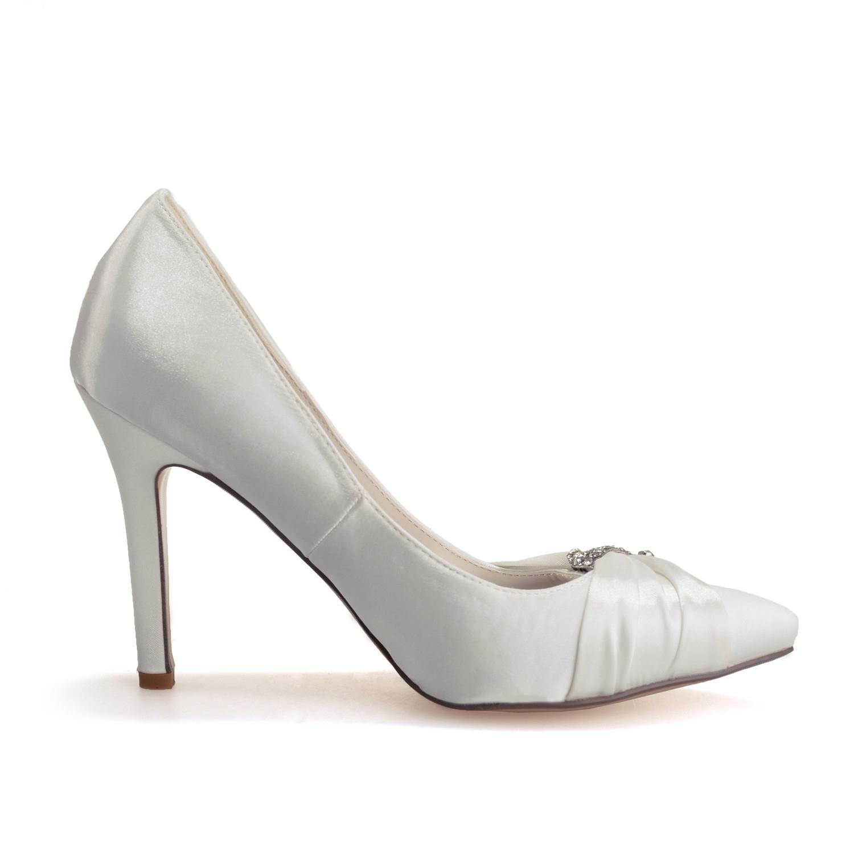 Elegant high schuhe0608-23 Frauen High Heels Hochzeit Seide Seide Seide Close Up Outdoor Kleidung Casual & Evening Party 9a619e