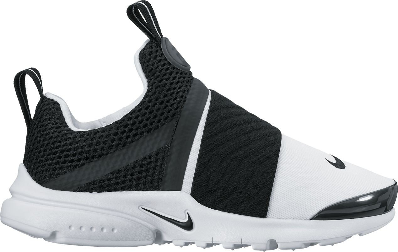 Nike Presto Extreme (PS) Pre School Boys Fashion Sneakers White/Black 870023-100 (3 M US) by Nike (Image #1)