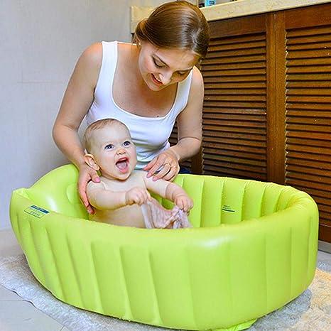 bouncevi steadyuf Bañera hinchable Bañera Inflable Bebé Lavabo de ...