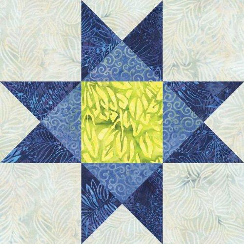 AccuQuilt GO! Fabric Cutting Dies, 12-Inch, Ohio Star