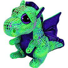 TY Beanie Boo Plush - Cinder Green Dragon 15cm