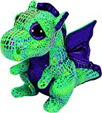 Ty Beanie Boos Cinder The Green Dragon Plush