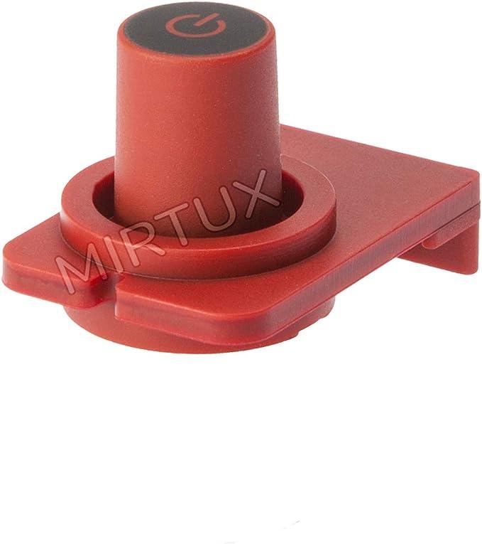 MIRTUX Botón de Encendido y Apagado Compatible con Cafetera Krups Essenza. MS-0039152: Amazon.es: Hogar