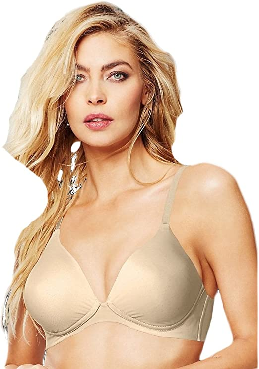 Details about  /34C Maidenform One Fab Fit Decadence Wire Free Plunge Bra 9348V