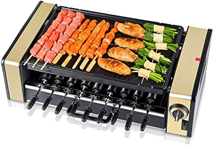Amazon.com: Double layer Automatic Smoke free Electric BBQ