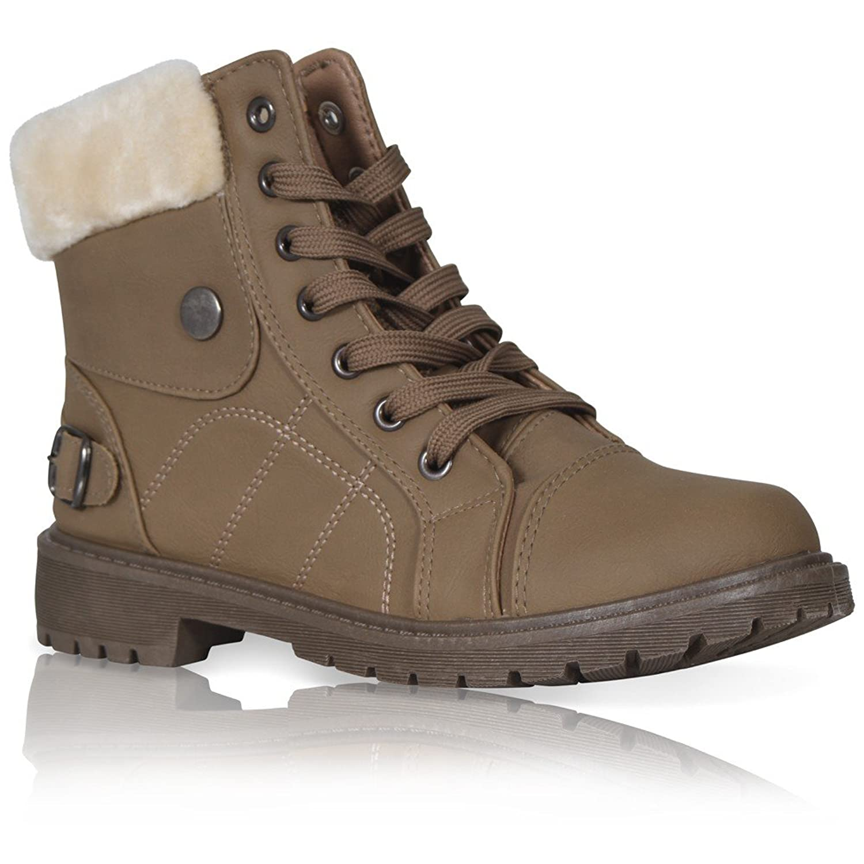 7252b8b2302 Women Faux Fur Ankle Boots  Amazon.co.uk  Shoes   Bags