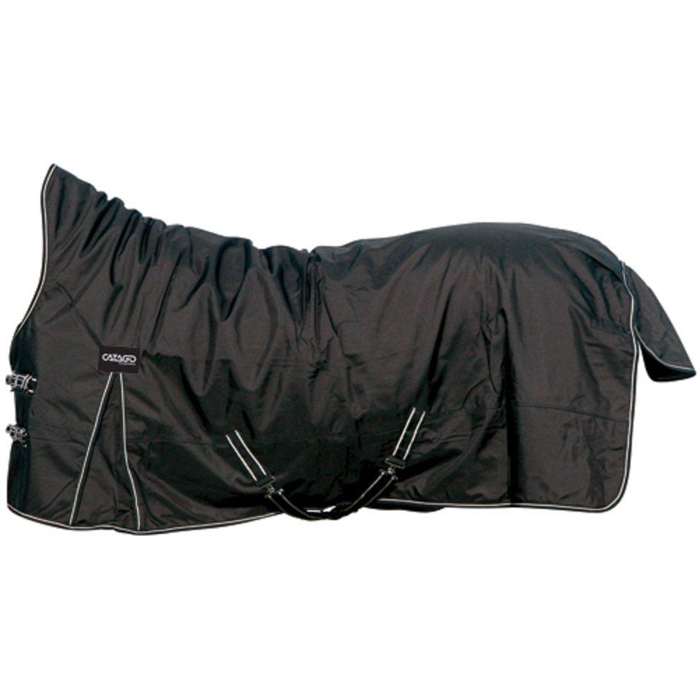 CATAGO Outdoordecke Justin für Pferde, 300g - schwarz 300g - schwarz - 115 cm 49591501