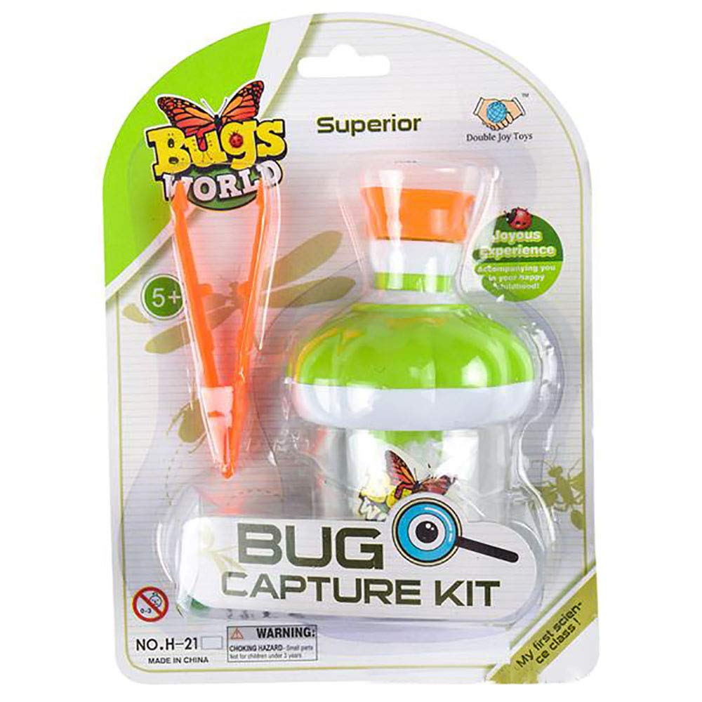 Kicko Microscope Set 1pc Bug World Microscope Set Kids Insect Magnifier Outdoor Garden Exploration Toy Insect Adventure Set Party Favors Collections Birthday Gifts