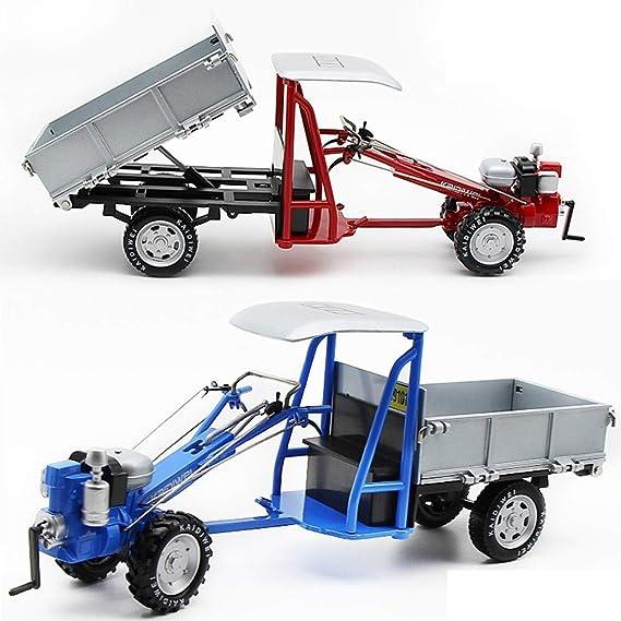 GRTVF Tractor de Coches de Juguete 1:18 Tractor Modelo de ...
