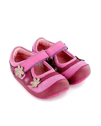 3e2395596f8 Zapato de niña preandante en Piel Lila Lea Lelo: Amazon.es: Zapatos y  complementos
