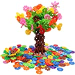 VIAHART Brain Flakes Piece Interlocking Plastic Disc Set | A Creative and Educational Alternative to Building Blocks | Tested for Children's Safety | A Great STEM Toy for Both Boys and Girls! 500