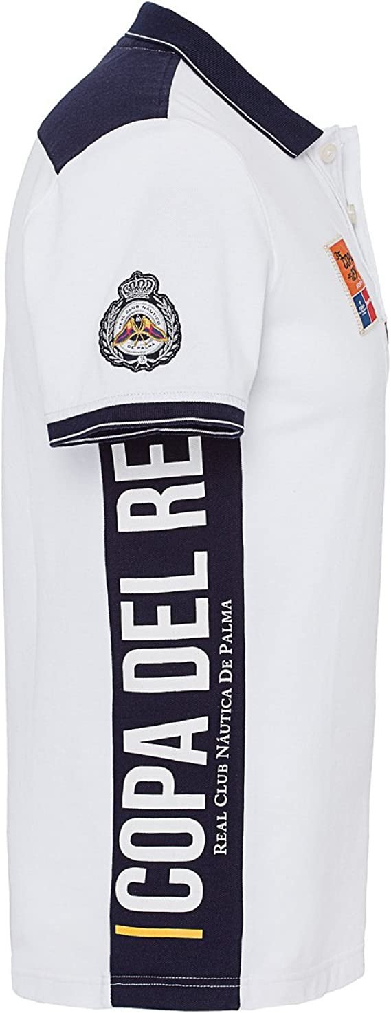 Gaastra Camiseta hombre Club Polo Copa del Rey Talla L 70 35771064 Blanco A20 Hombre Polo: Amazon.es: Ropa y accesorios