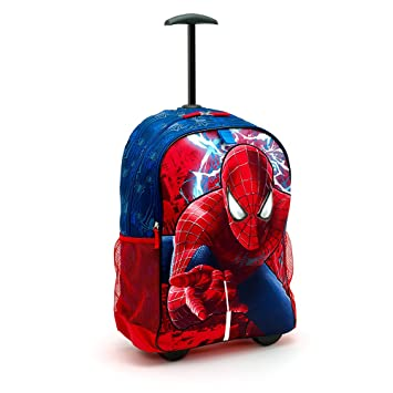 c11b183790cd Disney Store - The Amazing Spider-Man 2 Backpack Trolley For Kids   Amazon.co.uk  Toys   Games