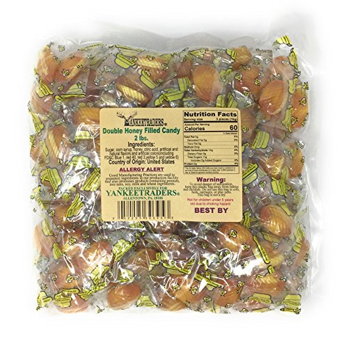 (Yankee Traders Classic Candy, Double Honey Filled, 2 Pound)