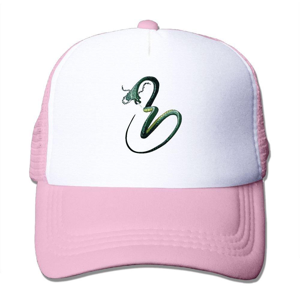 395914d67e067 Amazon.com  CHI-M Green Snake Mesh Baseball Cap Adjustable Trucker Hat for  Men Women  Clothing